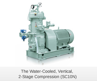 The Water-Cooled, Vertical, 2-Stage Compression (SC10N)