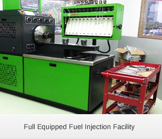Full Equipped Fuel Injection Facility