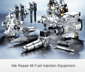We Repair All Fuel Injection Equipment